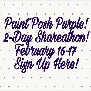 💜PARTICIPANT💜 Paint Posh Purple!! 🎉🎊💜